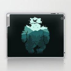 Hunting Season - Blue Laptop & iPad Skin