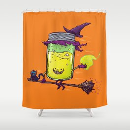 The Witch Jam Shower Curtain