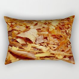 The Autumn leaves Rectangular Pillow