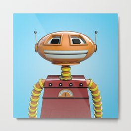 Scott the robot. Metal Print