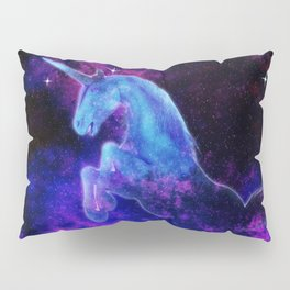 Cosmic Unicorn Pillow Sham