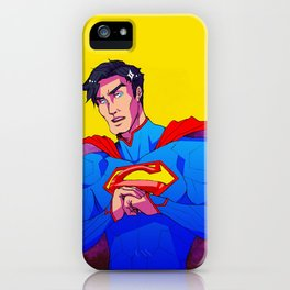Man from the Stars iPhone Case
