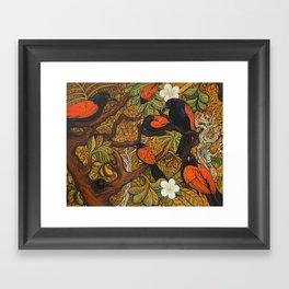 ' The Meeting ' Framed Art Print
