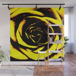 Yellow Rose : Pretty Flowers Wall Mural