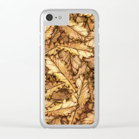 Autumn Leaves 01 Clear iPhone Case