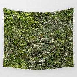Green wall Wall Tapestry