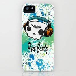 Skull headphones Pure Candy iPhone Case