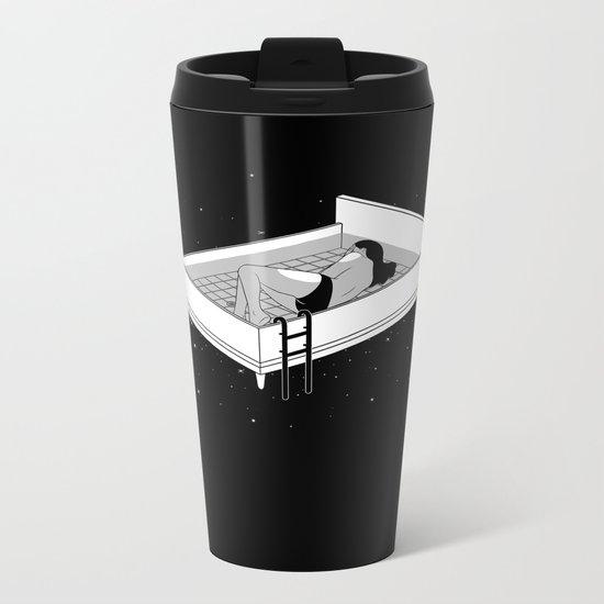 Bed for crying Metal Travel Mug