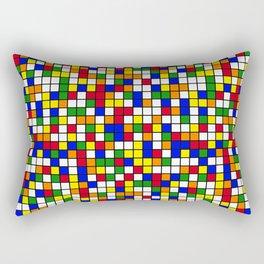 Cube Theory Rectangular Pillow