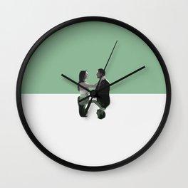 Jo and Alex Wall Clock