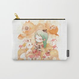 Hilda Whimsical World Carry-All Pouch