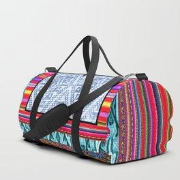 Peruvian Fabric Duffle Bag