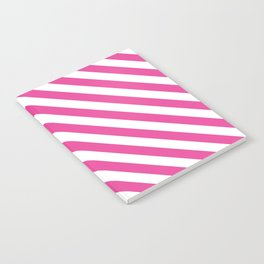 Stripes explosion - Pink Notebook