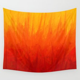 Fire and Liquid Sunshine Wall Tapestry