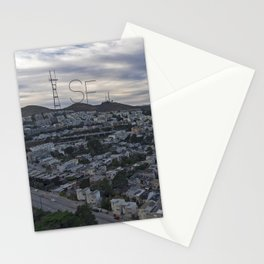 San Francisco - Sutro Tower Chill Stationery Cards