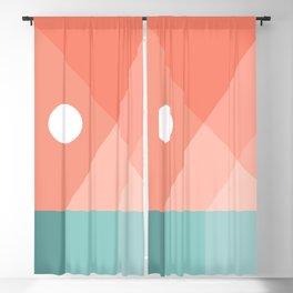 Geometric Landsape 12 Blackout Curtain