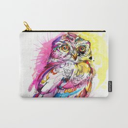 Neon Northern Pygmy Owl Carry-All Pouch