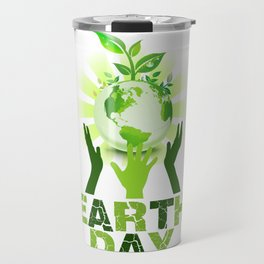 Earth Day 2018 Travel Mug