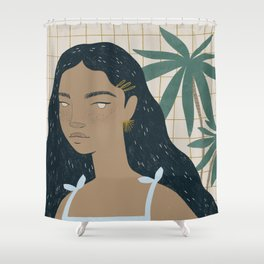 el verano Shower Curtain