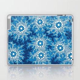 Authentic Aboriginal Art - Waterhole Dreaming Laptop & iPad Skin