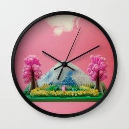 m a g i c g a r d e n Wall Clock