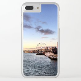 The Great Wheel, Seattle Clear iPhone Case