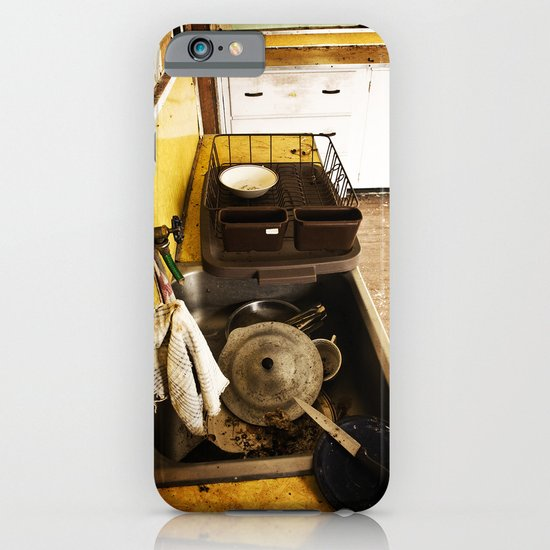 Dirty Dishes iPhone & iPod Case