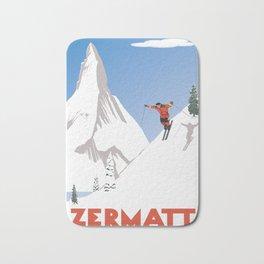 Zermatt, Valais, Switzerland Bath Mat