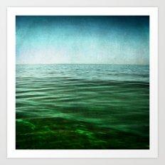 sea square XIV Art Print
