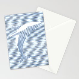 Whale Splash Stationery Cards
