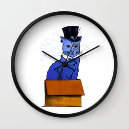 Frazier the Sir in a Box Wall Clock