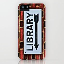 Library iPhone Case