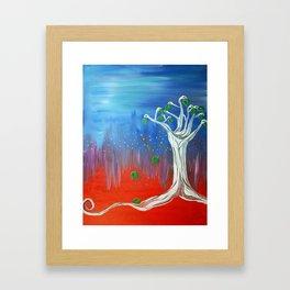 Innerdimensional Tree Spirit Framed Art Print