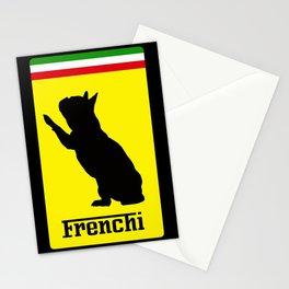 French Bulldog Ferrari  Stationery Cards