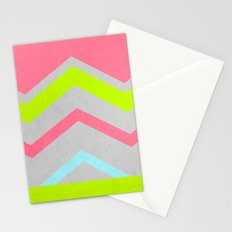 Abstract Neon Stationery Cards
