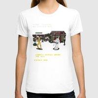 kill bill T-shirts featuring Kill Bill Arcade Game by NeleVdM