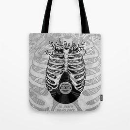 Til Death do us part. (v1) Tote Bag