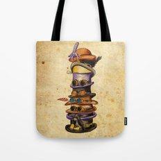 Hat Stack Tote Bag