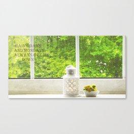 Rainy Days (1) Canvas Print