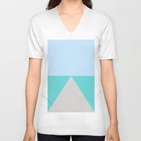 road V-neck T-shirts featuring road by Betax