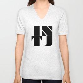 Type Type for INTJ Unisex V-Neck