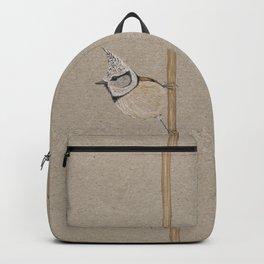 Crested tit Backpack