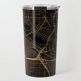 Minneapolis map, Minnesota Travel Mug