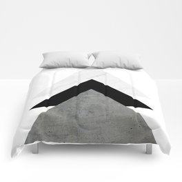 Arrows Monochrome Collage Comforters