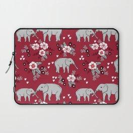Alabama university crimson tide elephant pattern college sports alumni gifts Laptop Sleeve