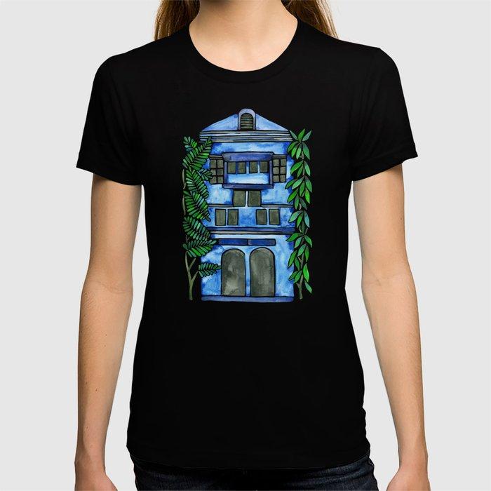 Tropical Blue House T-shirt