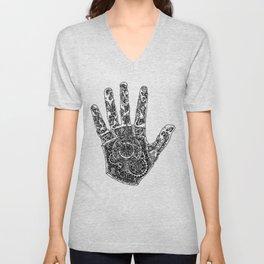 Hand of Machines Unisex V-Neck