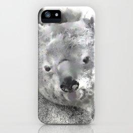Animals and Art - Koala Bear iPhone Case