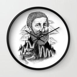 THOREAU Wall Clock