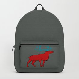 The lovely reindeer Backpack